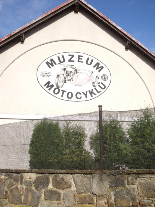 Budova muzea motocyklů